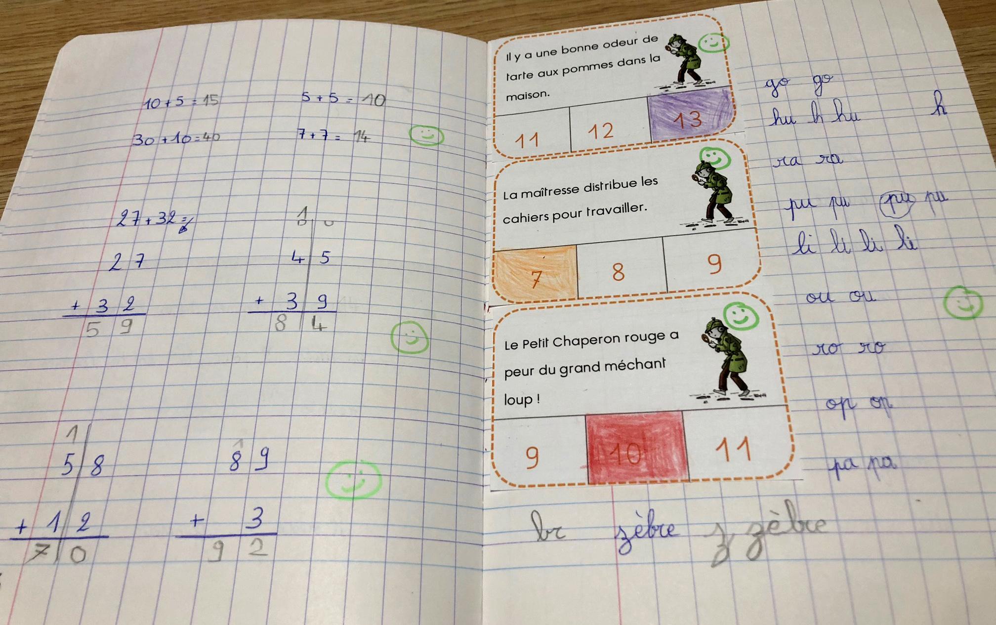 exercices pour janvier mathématiques