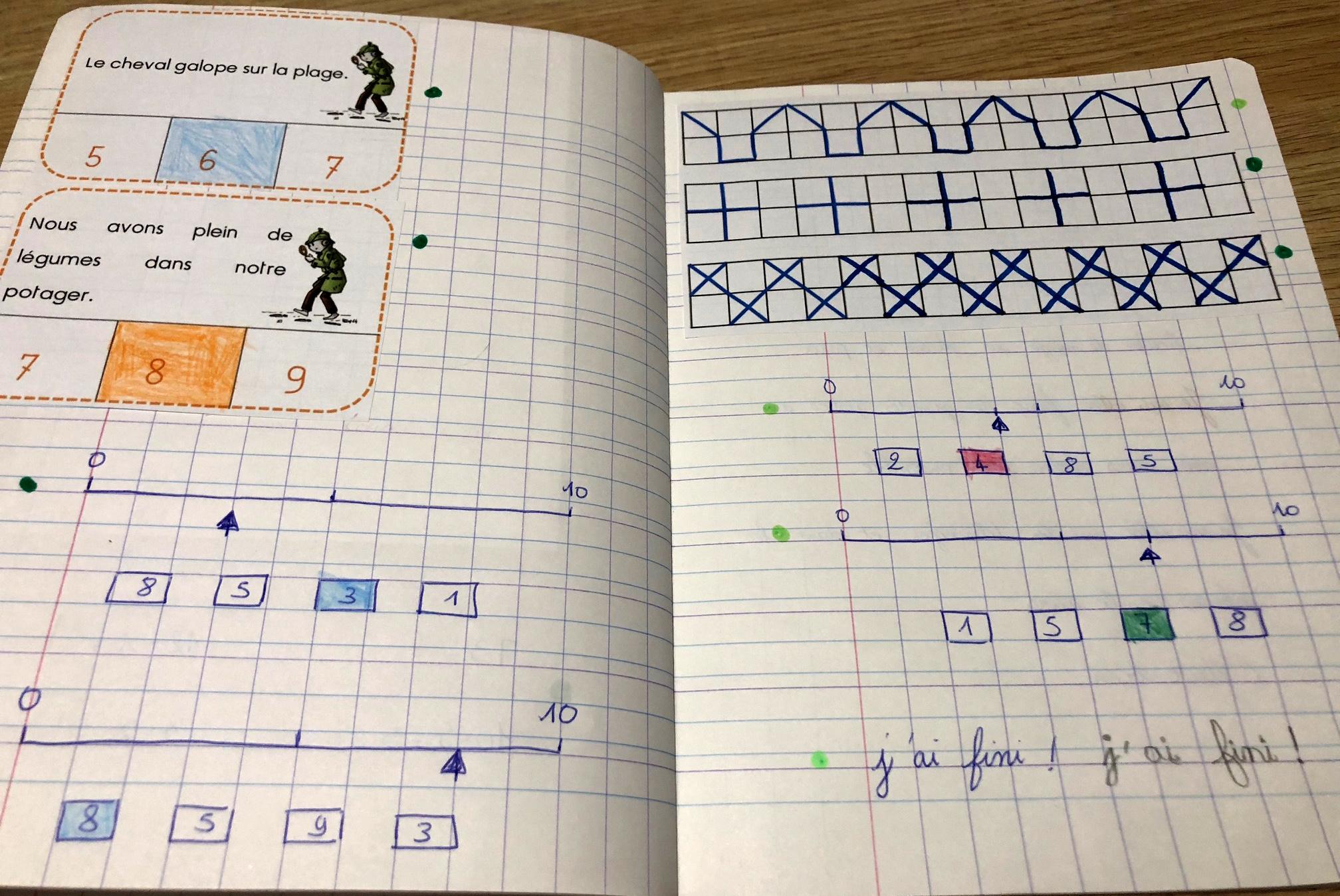 exercices pour janvier cahier vacances