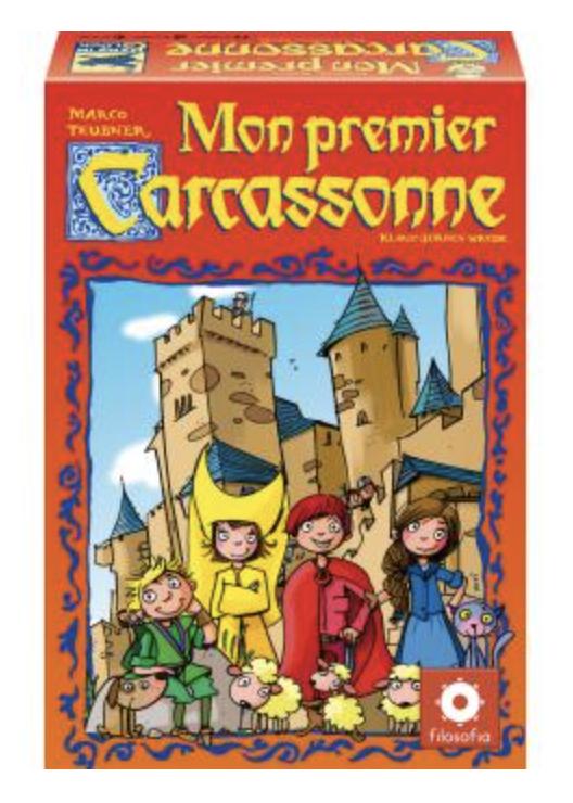 mon premier Carcassonne cadeau Noel 5 ans
