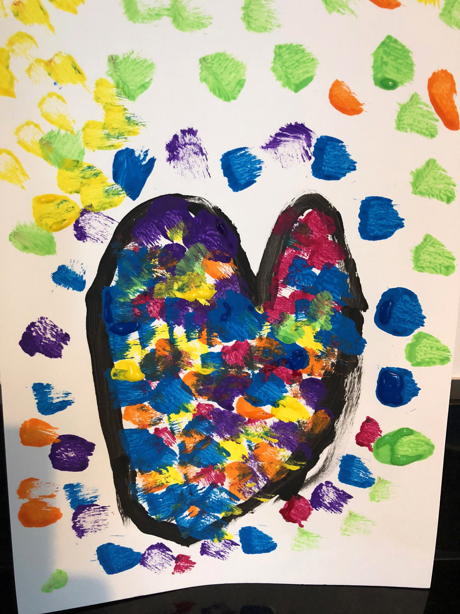 Jim Dine artiste peintre tableau coeurs