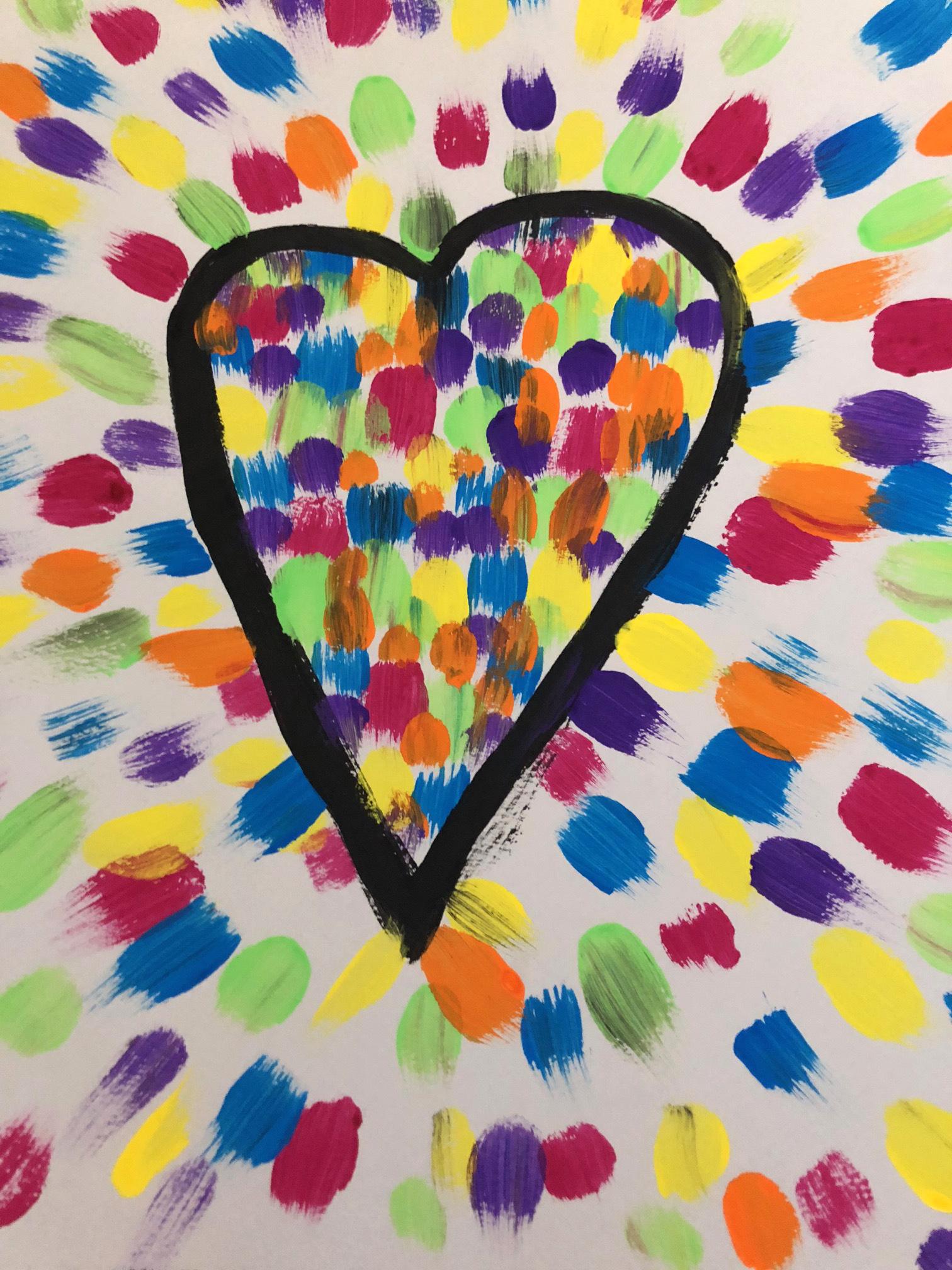 Jim Dine peinture atelier enfants instruction en famille