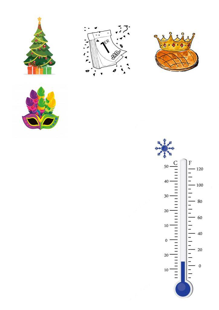lapbook hiver les fêtes