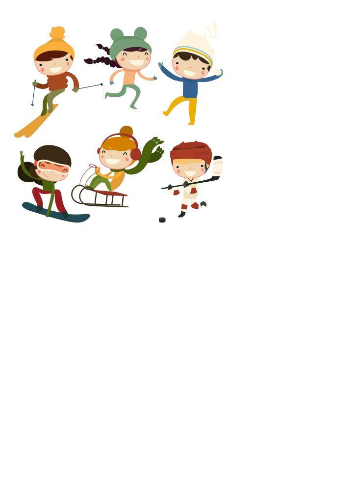 lapbook hiver les sports