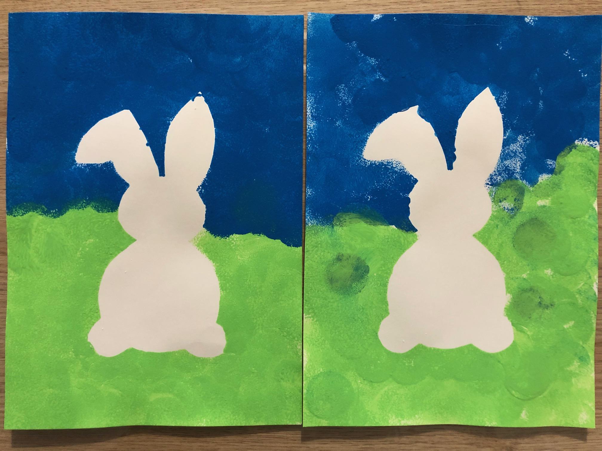 activités pour paques peinture ief