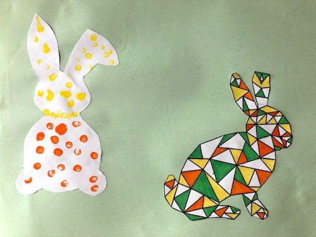 activités pour paques lapins ief maternelle