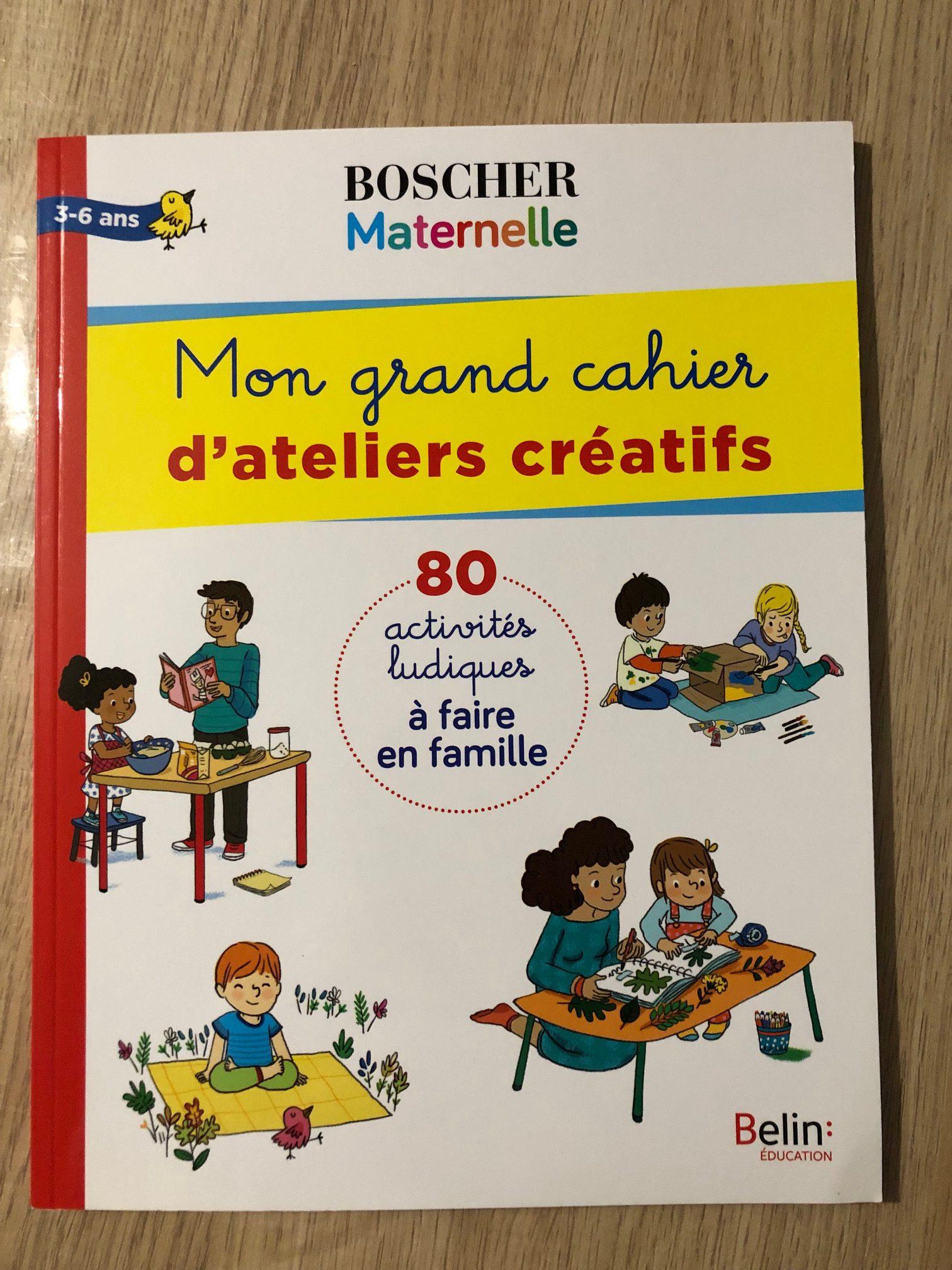 Les cahiers Boscher niveau maternelle