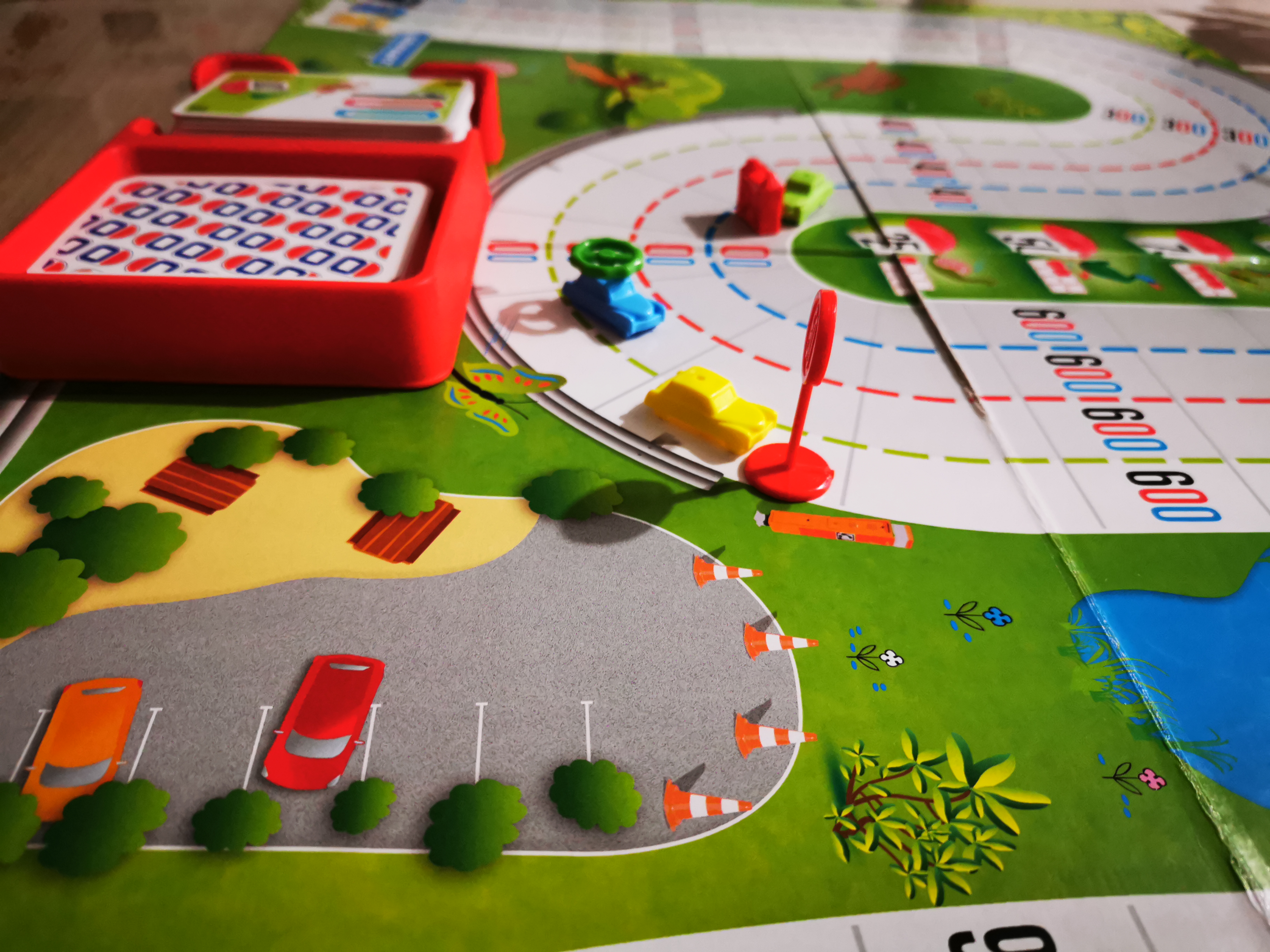 jeu de société enfants 1000 bornes
