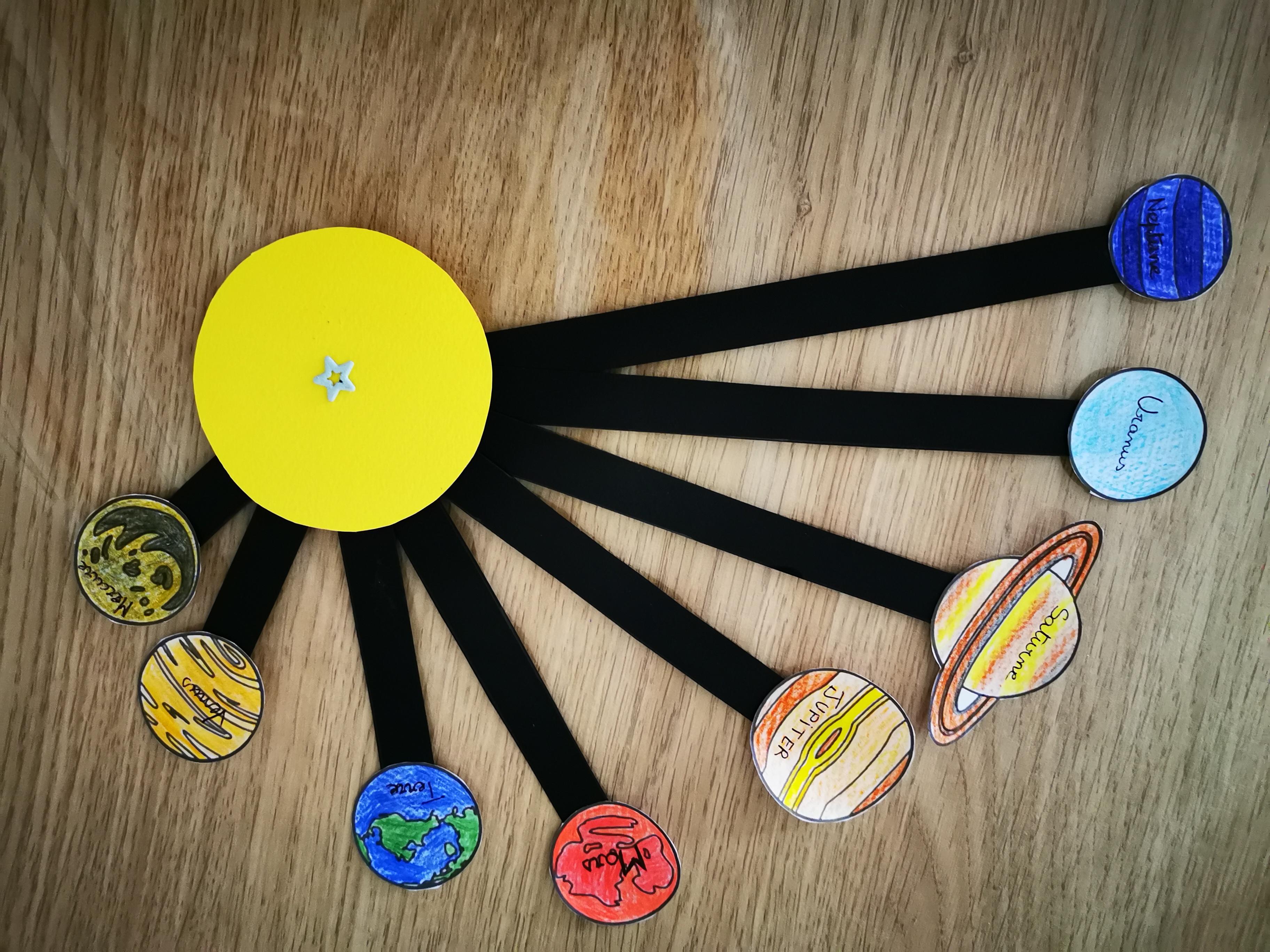 projet ief système solaire