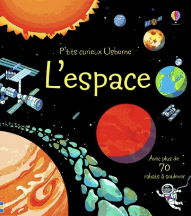 livre sur l'espace
