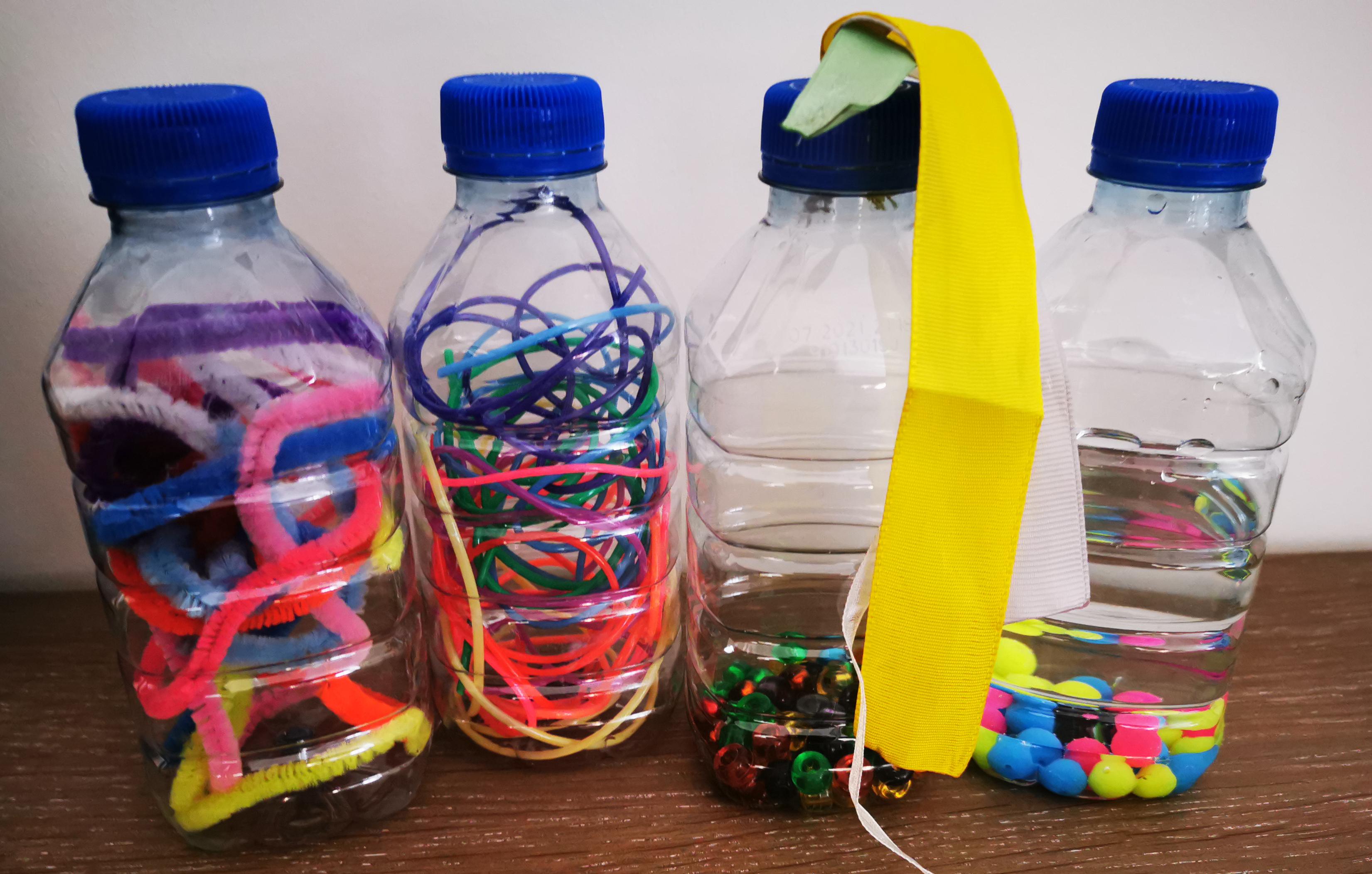 bouteille sensorielle montessori
