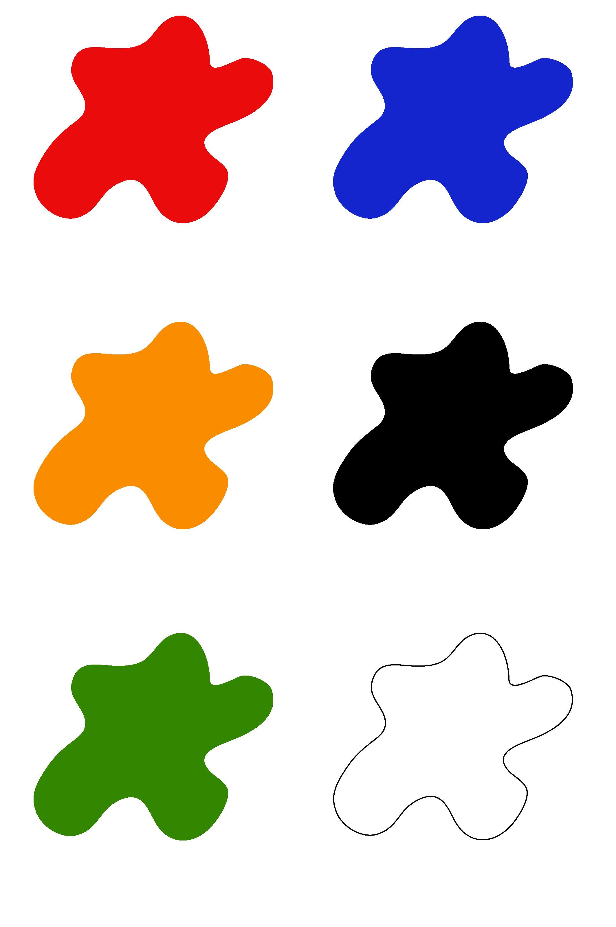 cartes des couleurs montessori