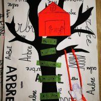 mon arbre art visuel