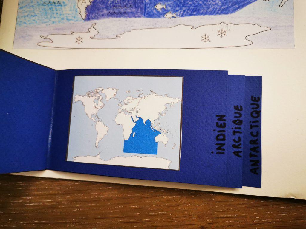 lapbook les 5 océans