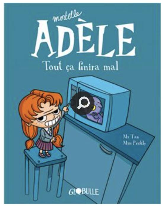 livres de ses 5 ans Adèle bd