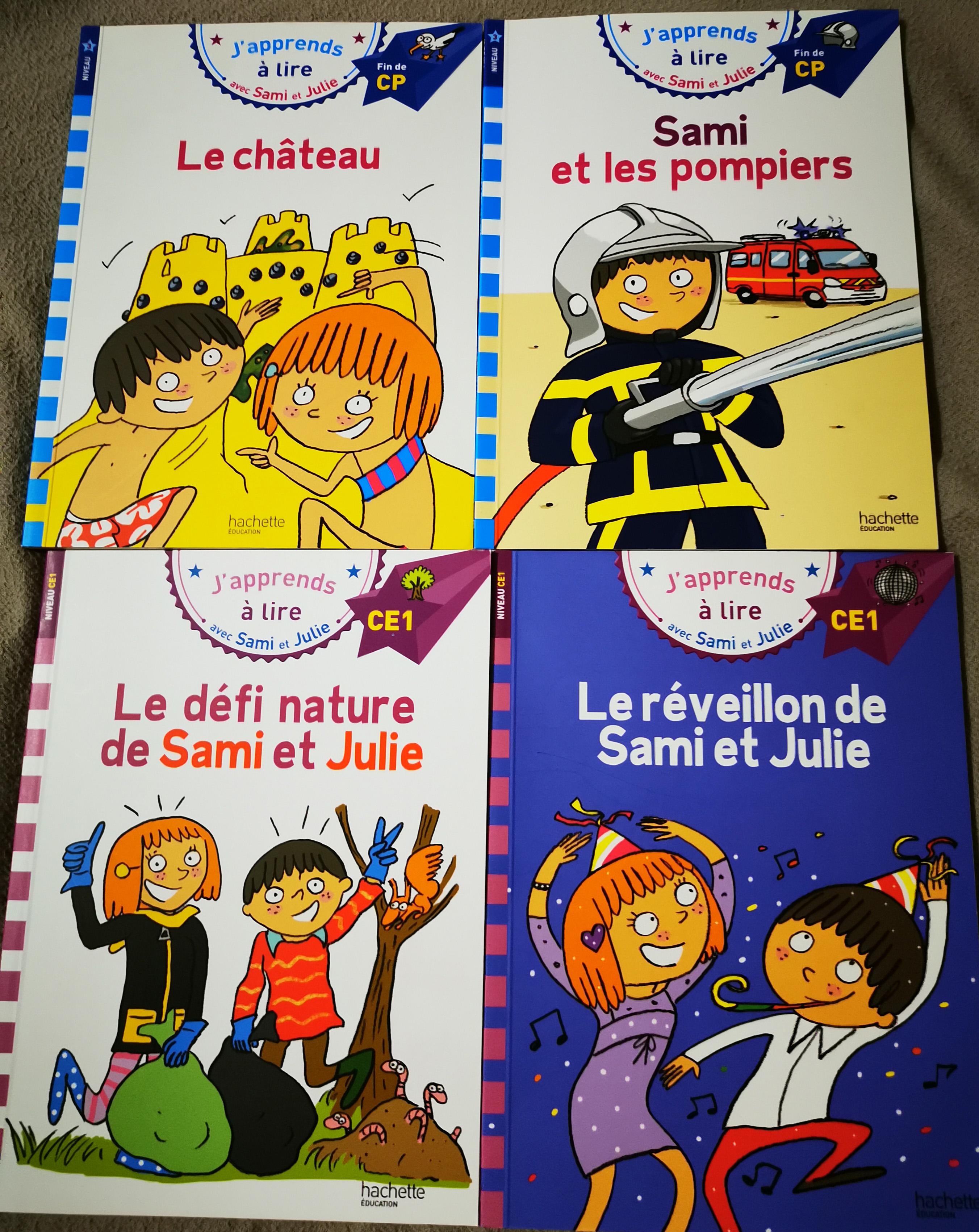 livres de ses 5 ans Sami et Julie