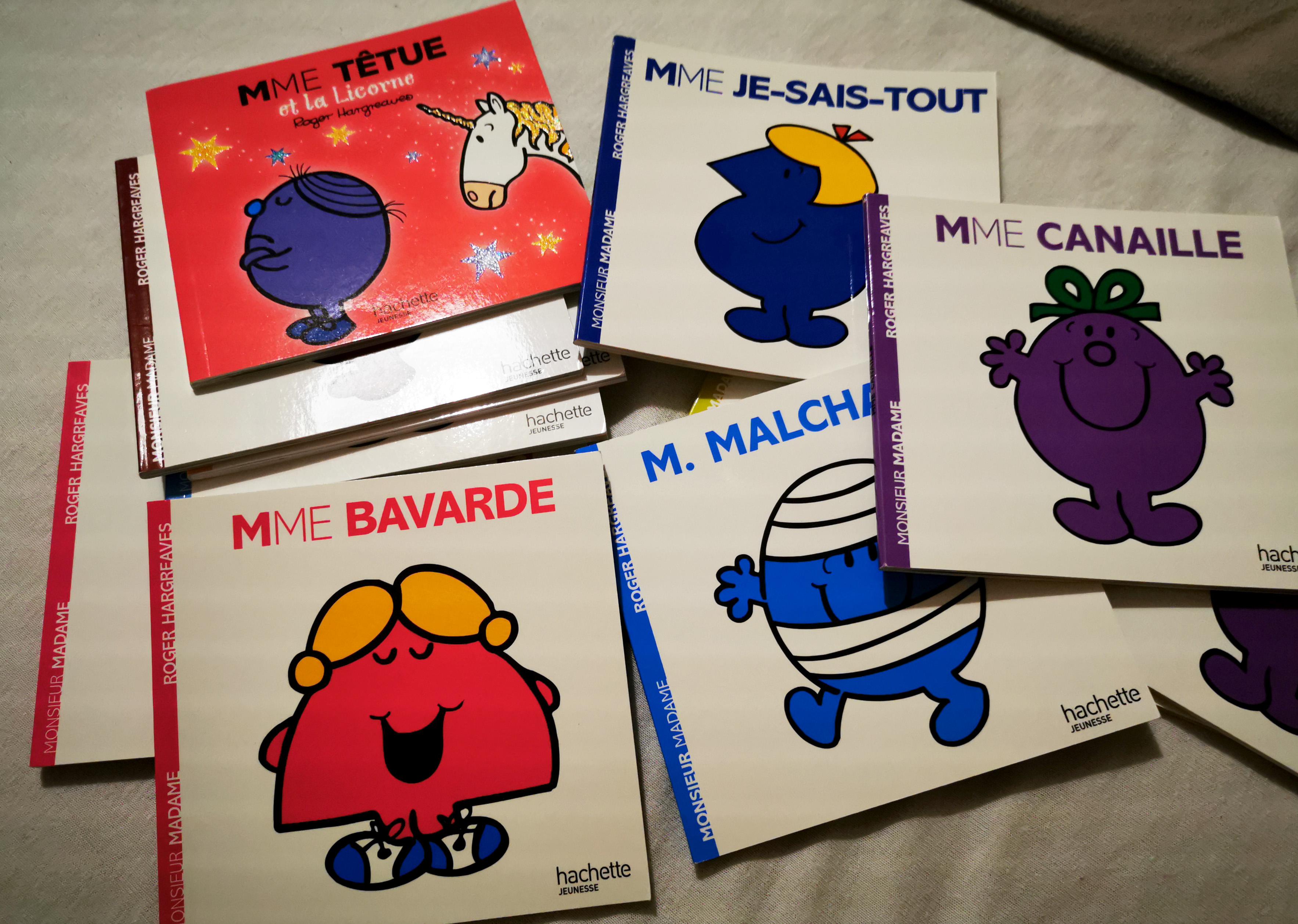 livres de ses 5 ans monsieur et madame