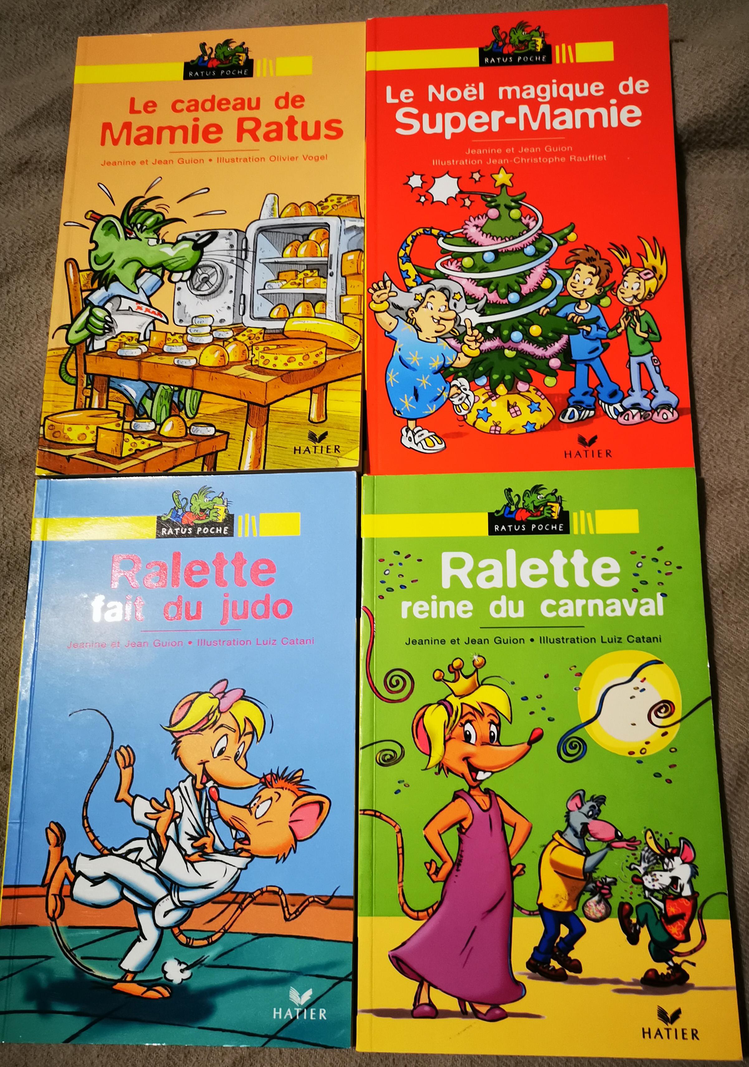livres de ses 5 ans Ralette découverte lecture