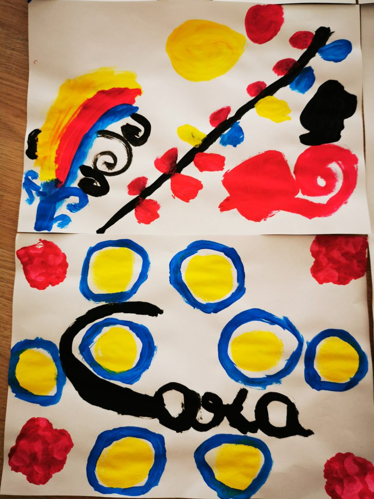 peindre comme Calder
