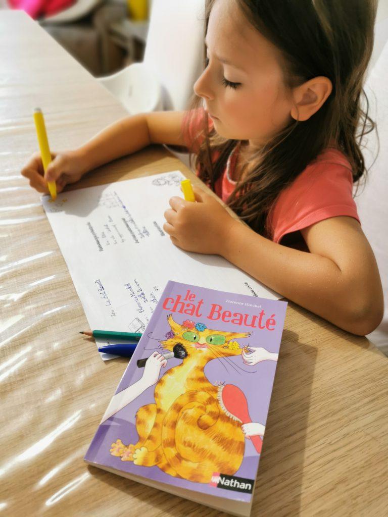 fiche de lecture enfant primaire