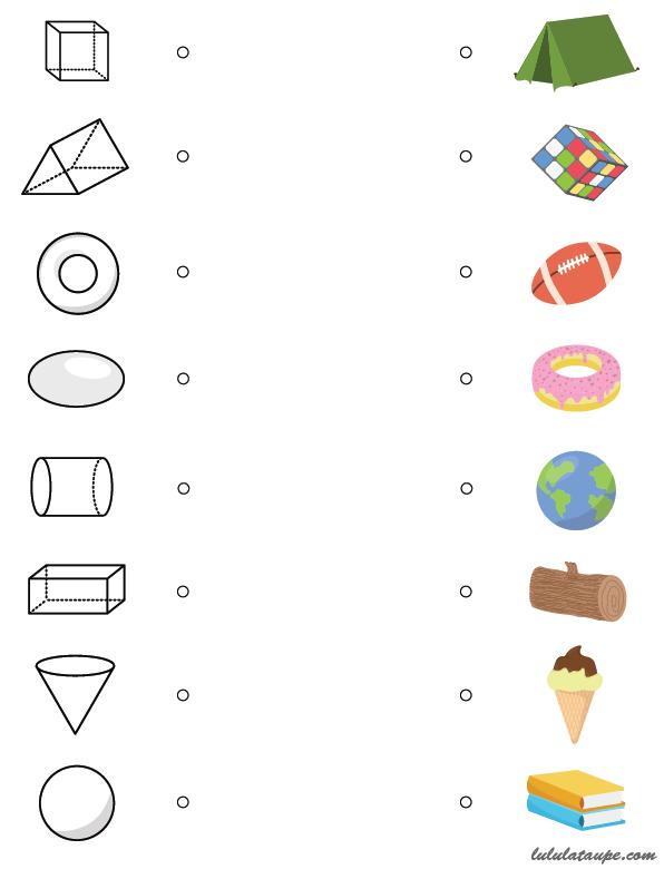 association formes géométriques