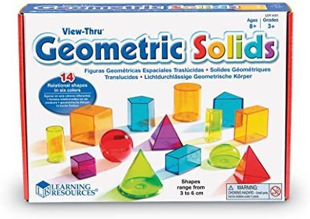les solides formes géométriques