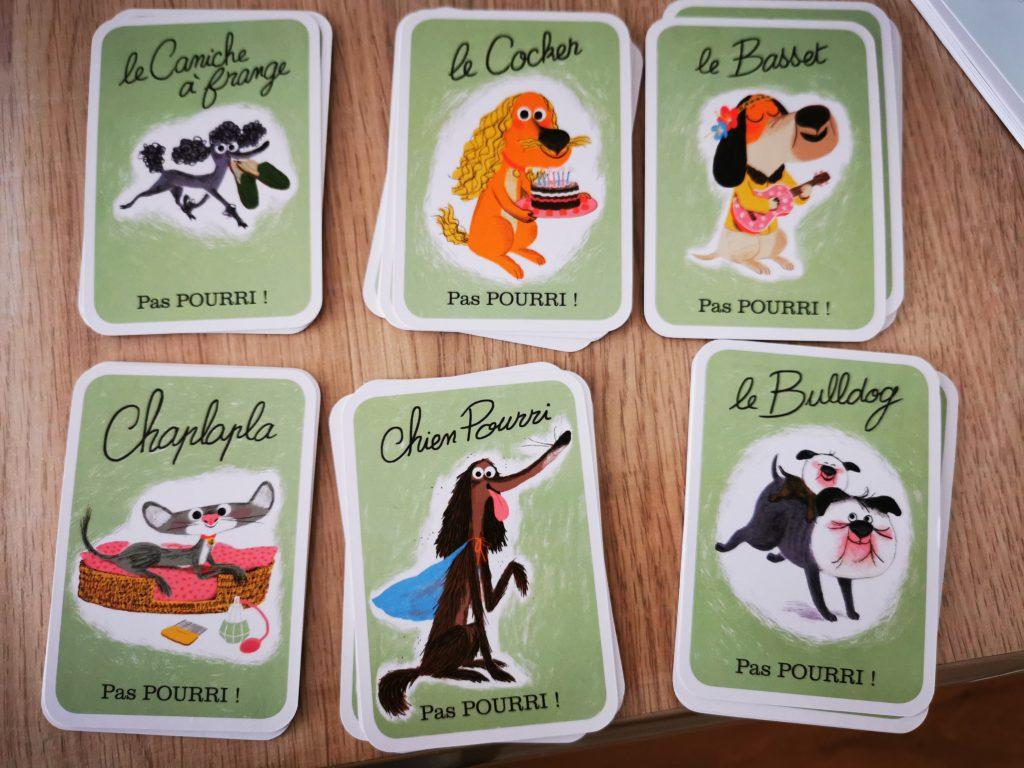 jeu cartes tu bluffes chien pourri