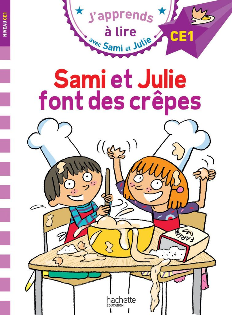 Sami et Julie font des crêpes rallye lecture