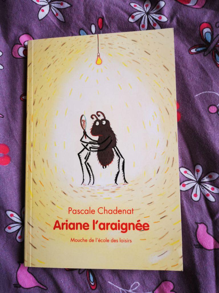 ariane l'araignée livre 7 ans